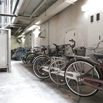 自転車置き場ももちろんございます!