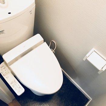 トイレはコンパクト!!