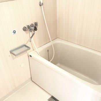 浴室もキレイで気持ちよく◎ ゆとりが大事!