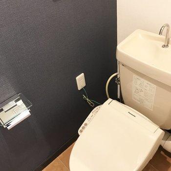 トイレもしっかりウォシュレット完備です!