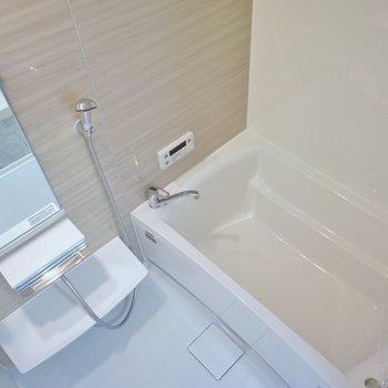 浴槽は横長めなかんじがします