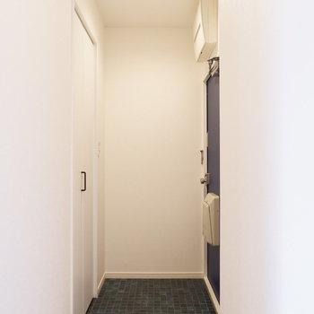 玄関ゆったりサイズ◎