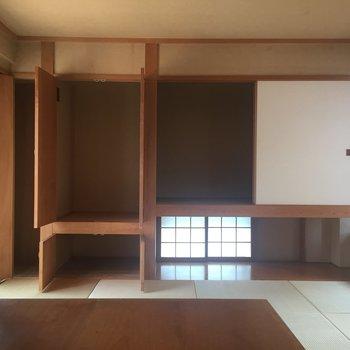 和室収納①大容量だ〜!