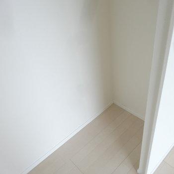 そんなに大容量ではないですね。※写真は同じ間取りの12階のお部屋のもの