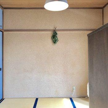 お次は、和室です※家具はサンプルです