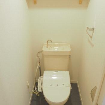 ※写真はイメージ※トイレにはウォシュレットつけます。