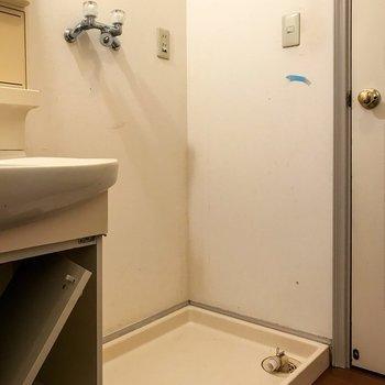 【工事前】洗濯機置き場は既存を活用