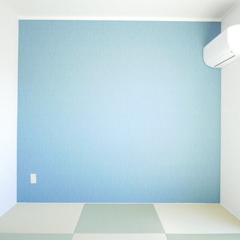 和室がなんとも明るくて爽やか