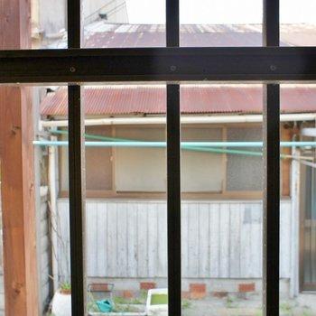 窓から外の風景