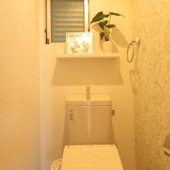 トイレの空間がとてもいい