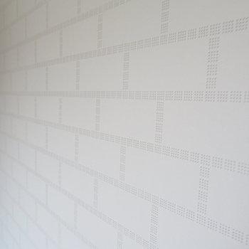 カウンター横の壁紙です