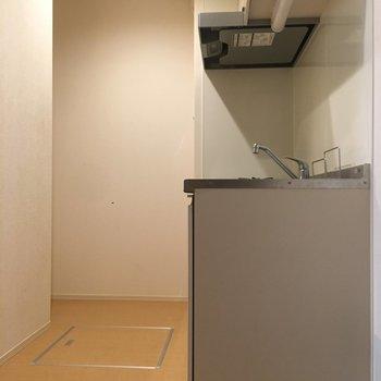 キッチンスペースは広さがある。