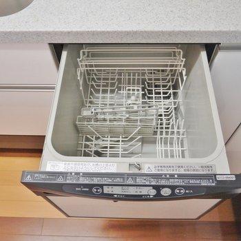 食器洗浄機付き。※写真は類似間取り別部屋のものです。