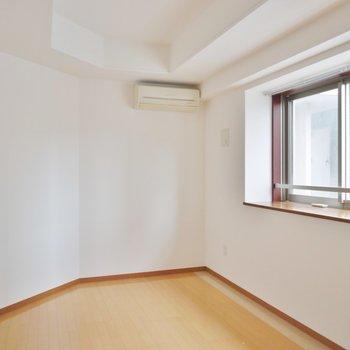 寝室にぴったりの広さ。※写真は類似間取り別部屋のものです。