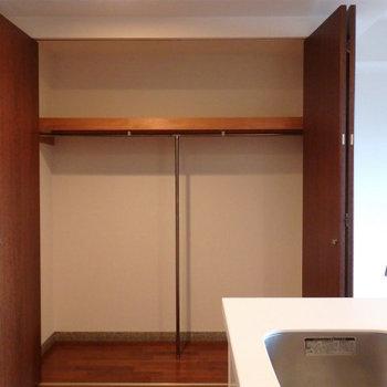 収納もしっかりと※写真は同間取り別部屋のものです。