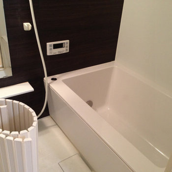 お風呂も最新設備※前回募集時の写真です