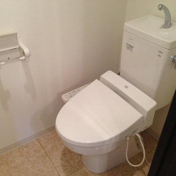 トイレもウォシュレット付き※前回募集時の写真です