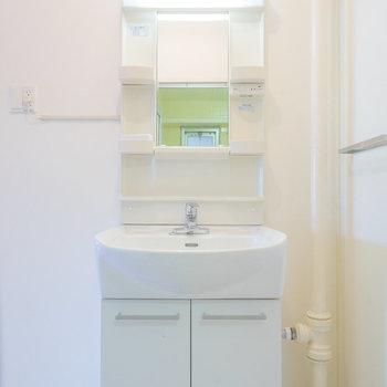 嬉しい独立洗面台!