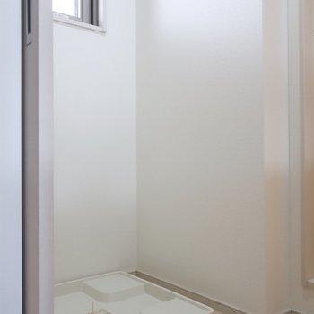 洗濯パンも脱衣所にあるので動線も◎※写真は11階の同間取り別部屋のものです