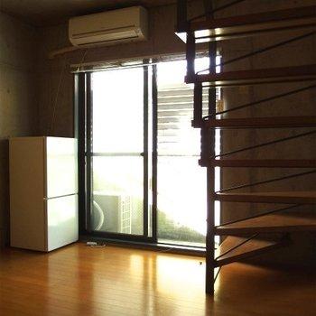 階段のある部屋