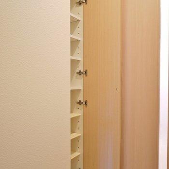 シューズBOX付きの玄関スペース。※写真は同タイプの別室です。