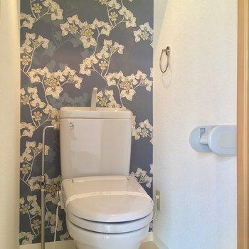 トイレもきちんと個室で・・・可愛いー!!!!!