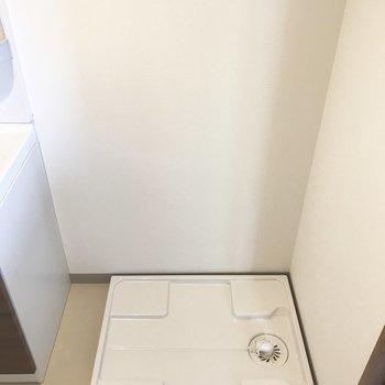 洗濯パンもサニタリースペースにありますよ。