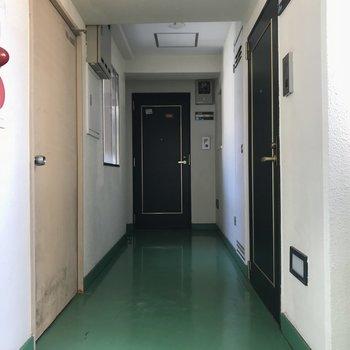 共同廊下です!