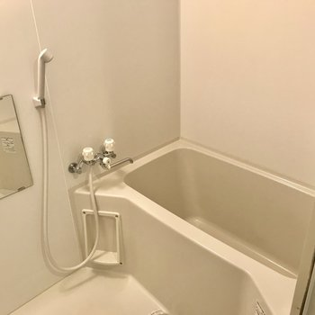 お風呂はシンプルに