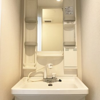 洗面台は普通かな?