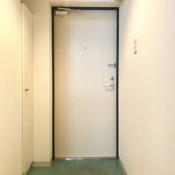 玄関はちょうどいいサイズ!