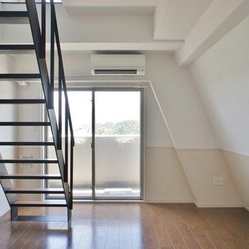 階段の存在感