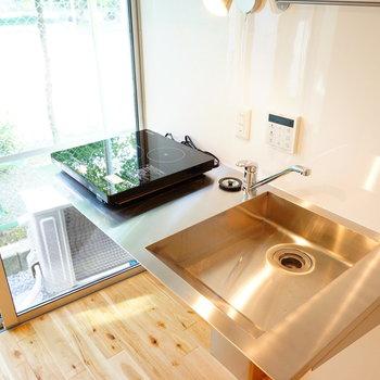キッチンも爽やかな空間♪※前回募集時の写真です