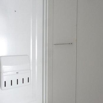 シンプルな玄関がいいんです。(写真は同じ間取りの4階のお部屋のものです)