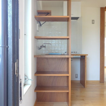 靴箱はキッチン棚の下に。この活用力!  ※写真は前回募集時のものです