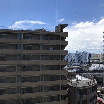 9階からの景色がこちら!