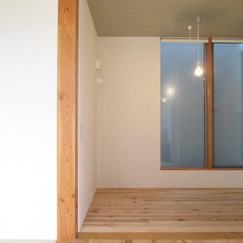 床と柱は木なので温もりを感じます♫※写真は前回募集時のものです