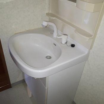 【工事前】洗面台は既存のものです