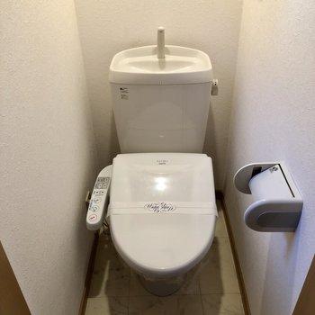 トイレにはちゃんとウォシュレットつきです!