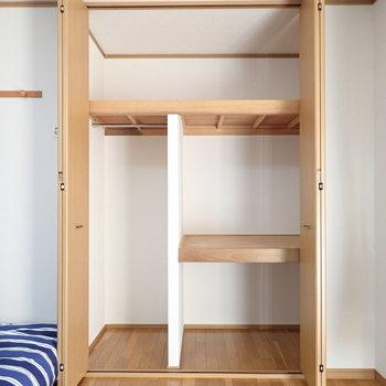 ひとり暮らしの収納としては十分すぎます※家具は見本となります