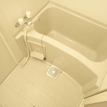 浴室は1人暮らしには十分なサイズ。