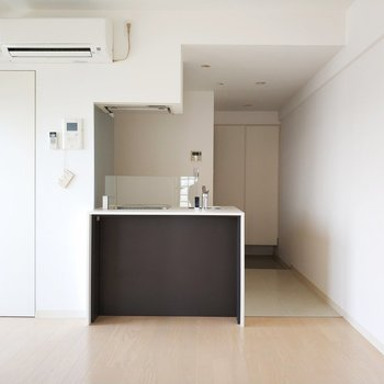 対面キッチンも素敵な雰囲気醸し出してます。※写真は前回募集時のものです