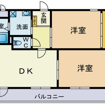 すべてのお部屋は導線が繋がっています!