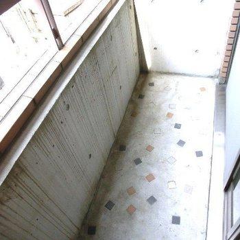 バルコニーです。※写真は2階別部屋のものです
