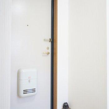 玄関も十分の広さ。