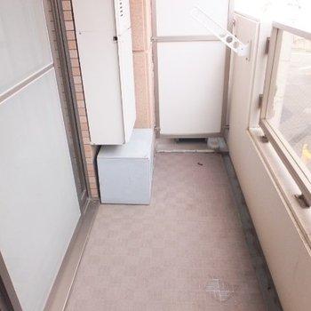 バルコニーは2階部分にあります※1階の同間取り別部屋の写真です
