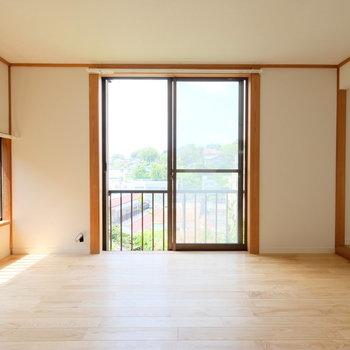 和室が無垢床のお部屋に生まれ変わりました!