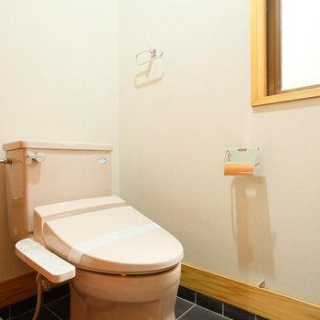 トイレはウォシュレット付きの新しいものがつきます!◎