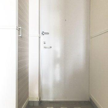 玄関もすっきりキレイ◎