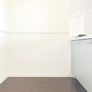 キッチンのスペースもゆとりがしっかり!